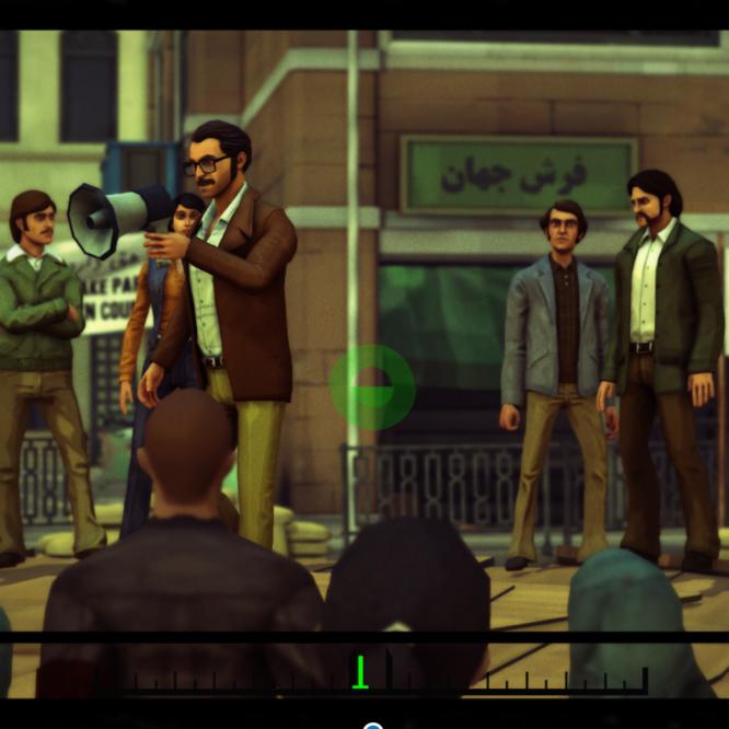 iranian revolution video game